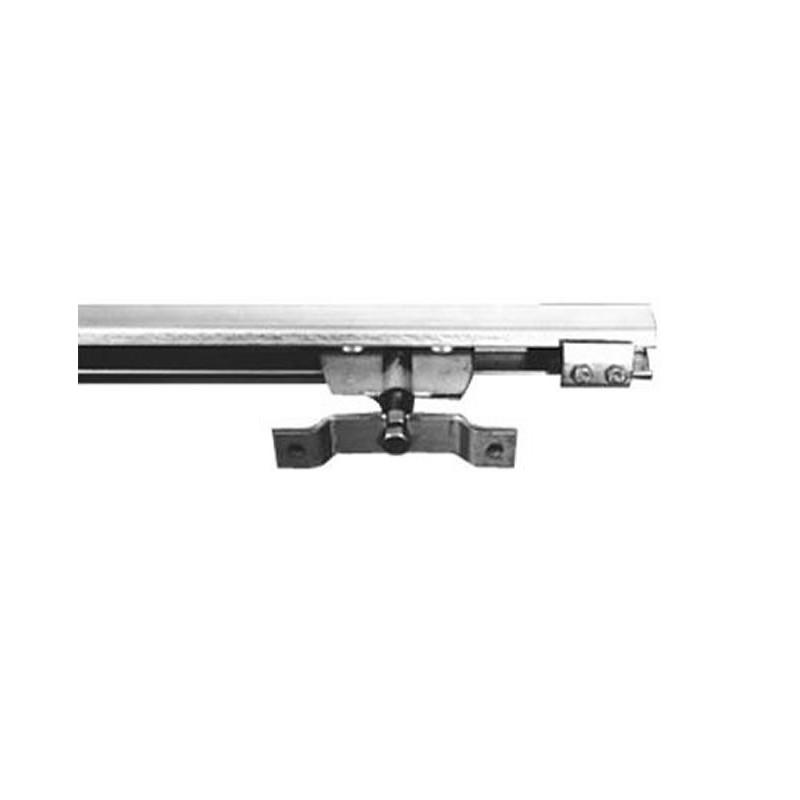 Profil rail en inox charge maxi 125 kg au mètre
