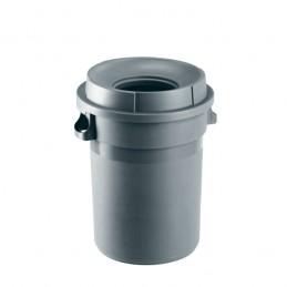 Conteneur 80 litres avec couvercle entonnoir