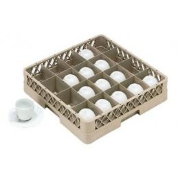 Casier lave-vaisselle pour tasses à 20 compartiments