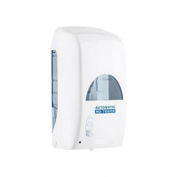 Distributeur de savon ou gel sans contact automatique.