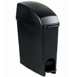 Poubelle à pédale pour hygiène féminine gamme BLACK