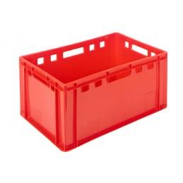 Bac à viande 58 litres rouge euronorm