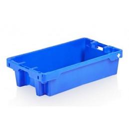 Bac à poissons emboîtable 35 litres bleu