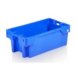 Bac à poissons 60 litres emboîtable bleu