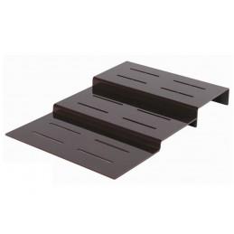 Escalier 3 marches largeur 500 mm pour plats sur buffet