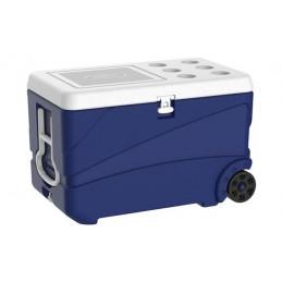 Glacière 65 litres sur roulettes