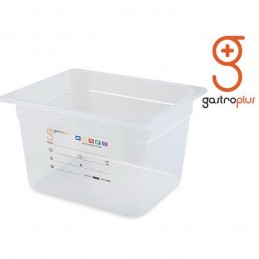 Bac 12.5 litres stockage alimentaire profondeur 200 mm