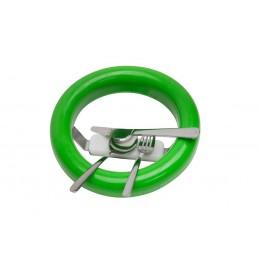 Joint de vide-ordures avec aimant vert