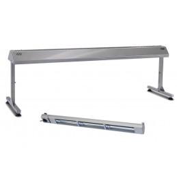 Support inox pour lampe chauffante 1200 mm