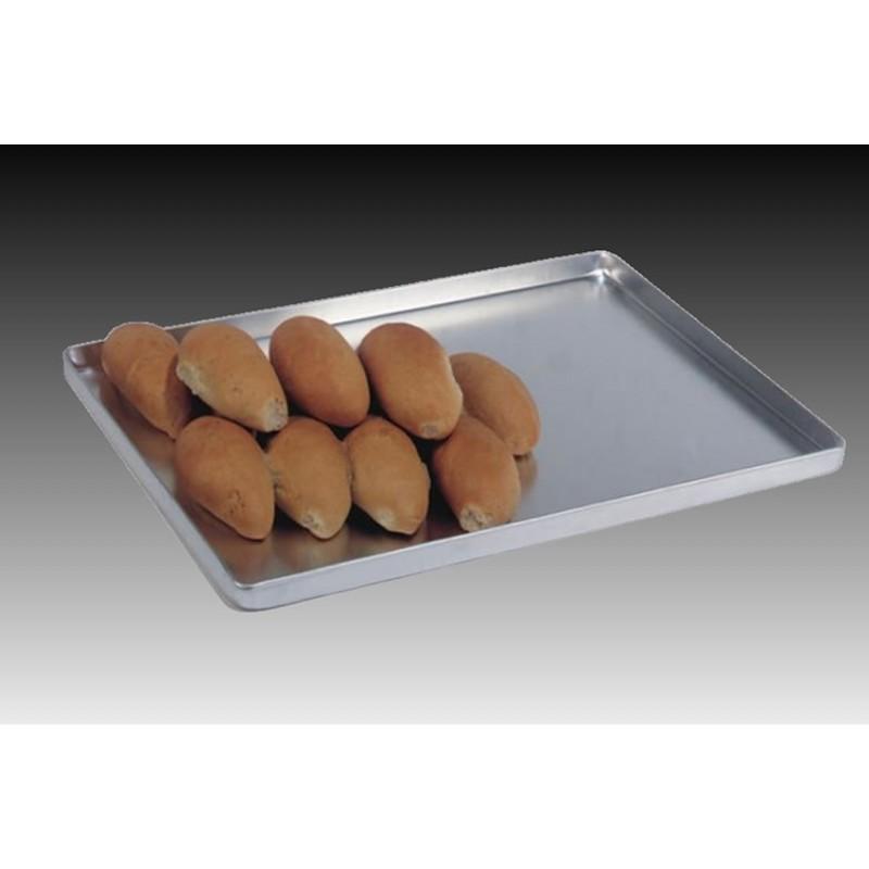 Plateau aluminium pour présentation boulangerie 600 x 400 mm