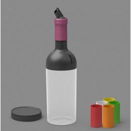 Kit complet bouteille avec verseur pour sauce FIFO