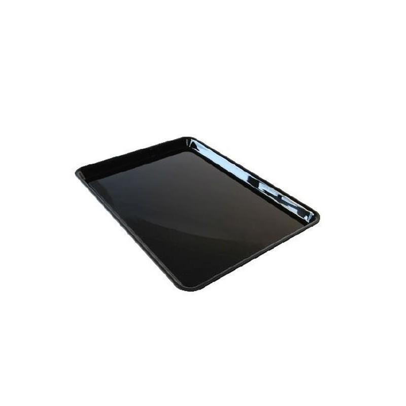 Plat de présentation plexi pour vitrine rectangulaire 280x195 mm hauteur 20 mm