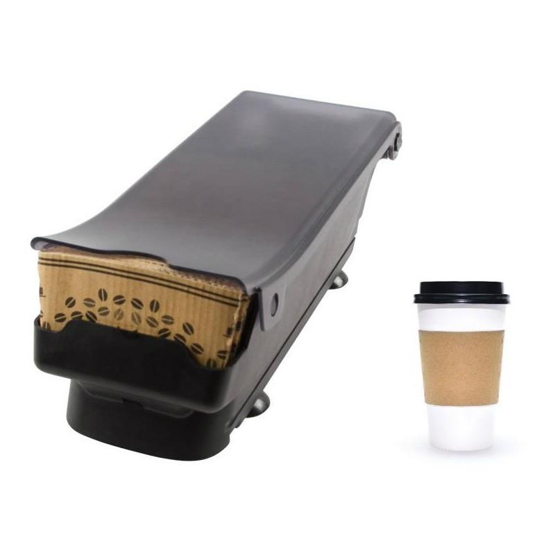 Distributeur de manchons pour gobelets à café