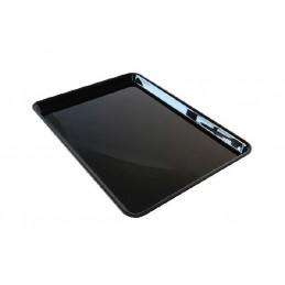 Plat de présentation plexi pour vitrine rectangulaire 380x280 mm hauteur 20 mm