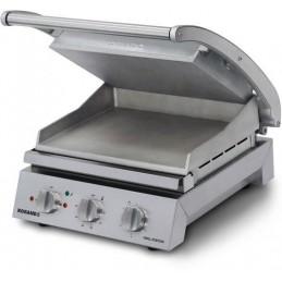 Grill station 2990 W pour 8 sandwiches avec plaque supérieure lisse