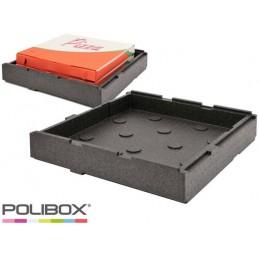 Conteneur isotherme 570 x 570 mm pour pizza
