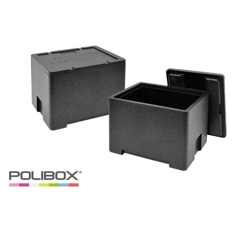 Conteneurs Isothermes Polibox GN 1/2 ouvert