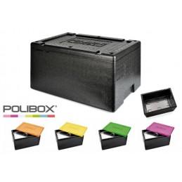 Conteneur Polibox GN1/1 avec couvercle couleur