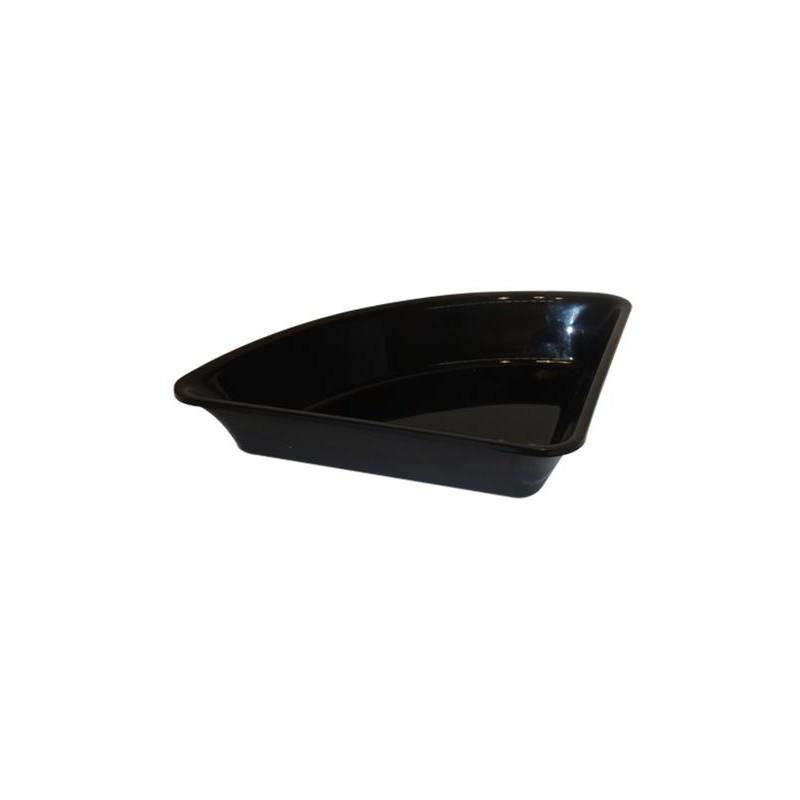 Saladier pour présentation en triangle 350x265 mm hauteur 80 mm