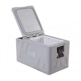 Conteneur réfrigéré 27 litres face avant ouverte.