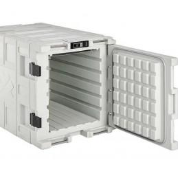 Conteneur réfrigéré 140 litres pour produits frais ouvert