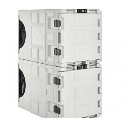 Conteneur réfrigéré 140 litres pour produits frais superposable