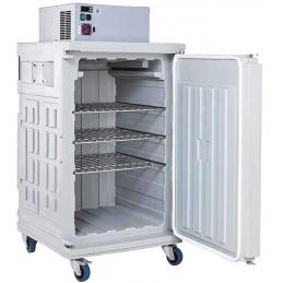Conteneur réfrigéré 370 litres statique ouverture par devant
