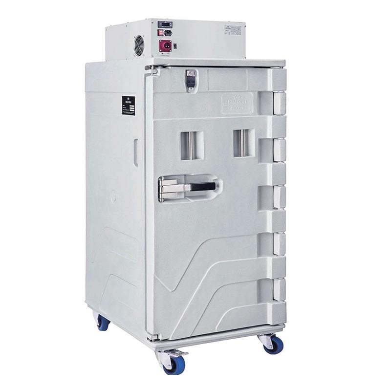 Conteneur réfrigéré 416 litres ventilé ouverture par devant