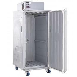 Conteneur réfrigéré 416 litres ventilé ouverture par devant ouvert
