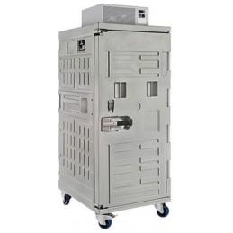 Conteneur réfrigéré 610 litres ventilé ouverture par devant