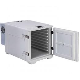 Conteneur de refroidissement 68 litres ouverture avant porte ouverte