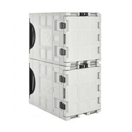 Conteneur de refroidissement 135 litres statique ouverture avant empilable.