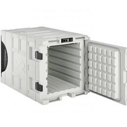 Conteneur de refroidissement 135 litres statique ouverture avant ouvert.