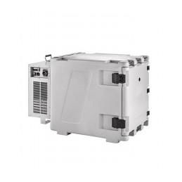 Conteneur de refroidissement 148 litres ventilé ouverture avant.