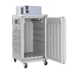 Conteneur de refroidissement 370 litres ventilé ouverture avant.