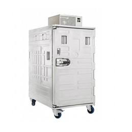 Conteneur de refroidissement 1115 litres ventilé ouverture avant.