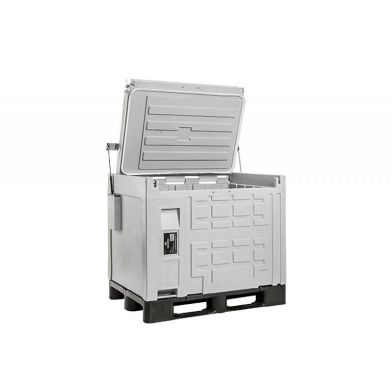 Conteneur isotherme cargo Line 370 litres sur palette.