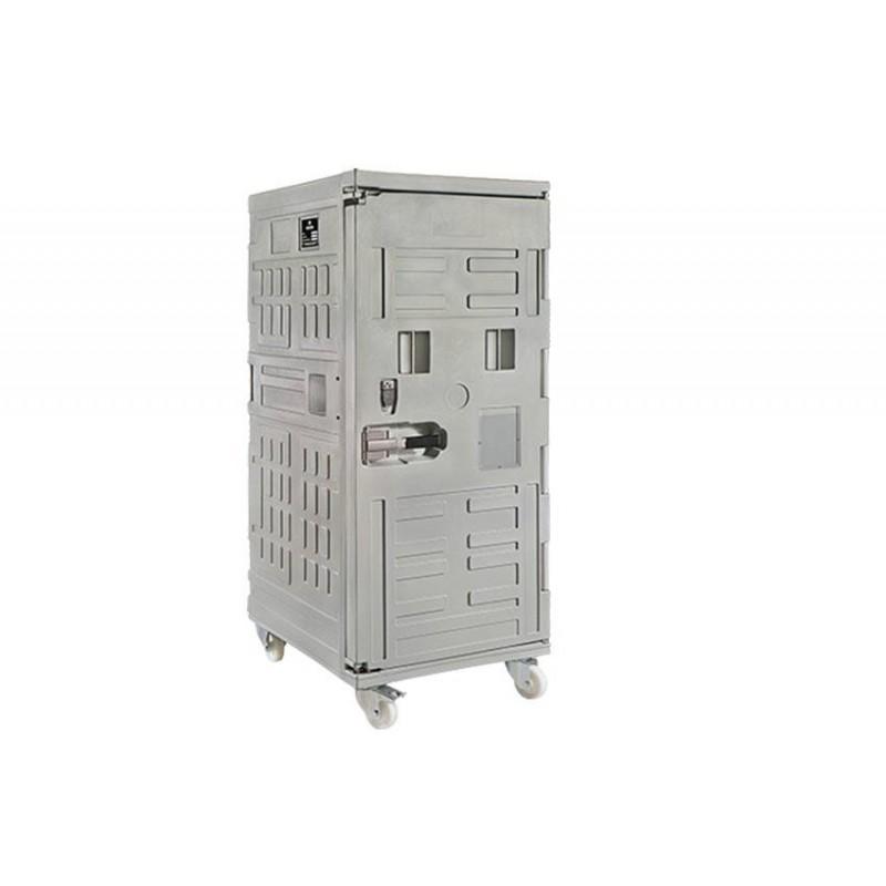 Conteneur isotherme cargo Line 775 litres sur 4 roues.