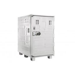 Conteneur isotherme cargo Line 1350 litres sur cadre palette