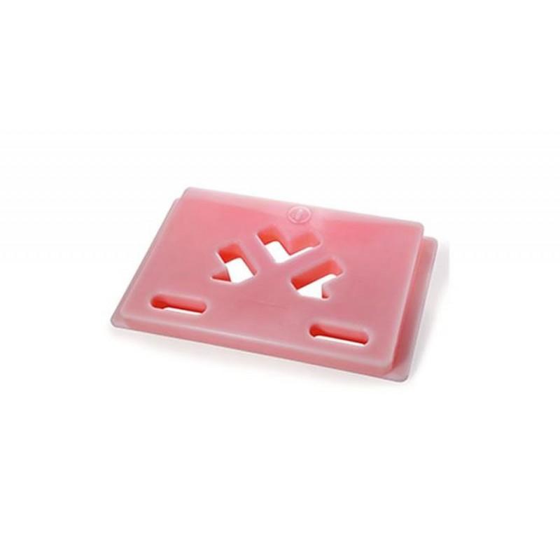 Plaque eutectique +3°C rouge 545 x 325 mm