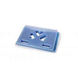 Plaque eutectique -21°C bleu 545 x 325 mm
