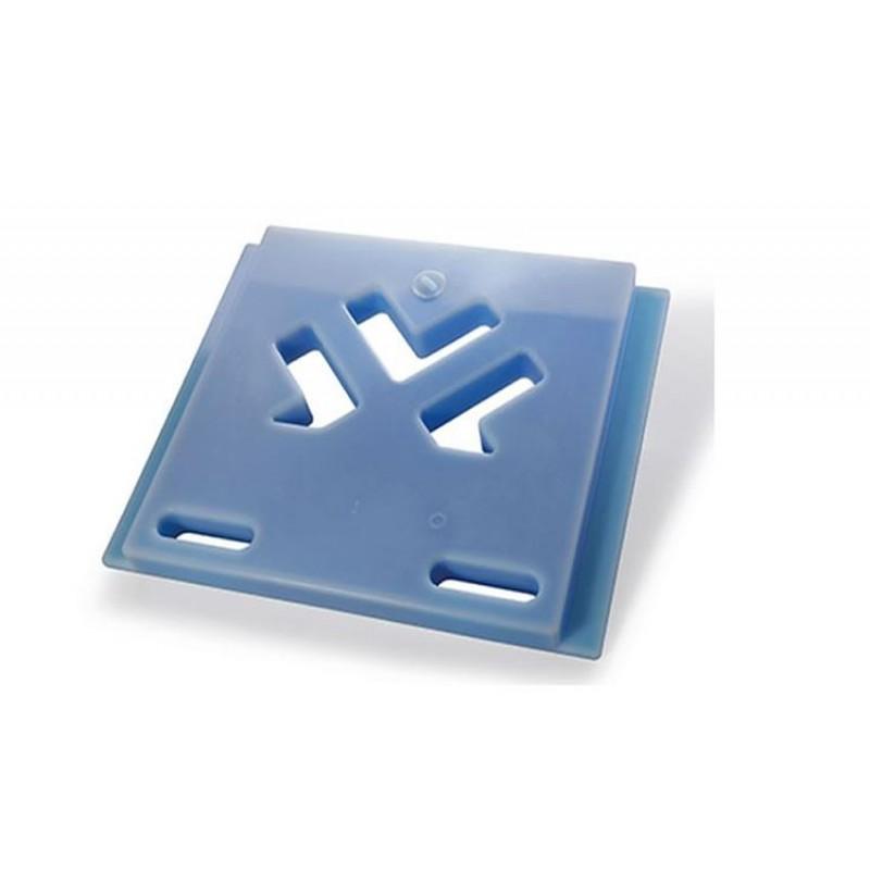 Plaque eutectique -21°C bleu 600x487 mm