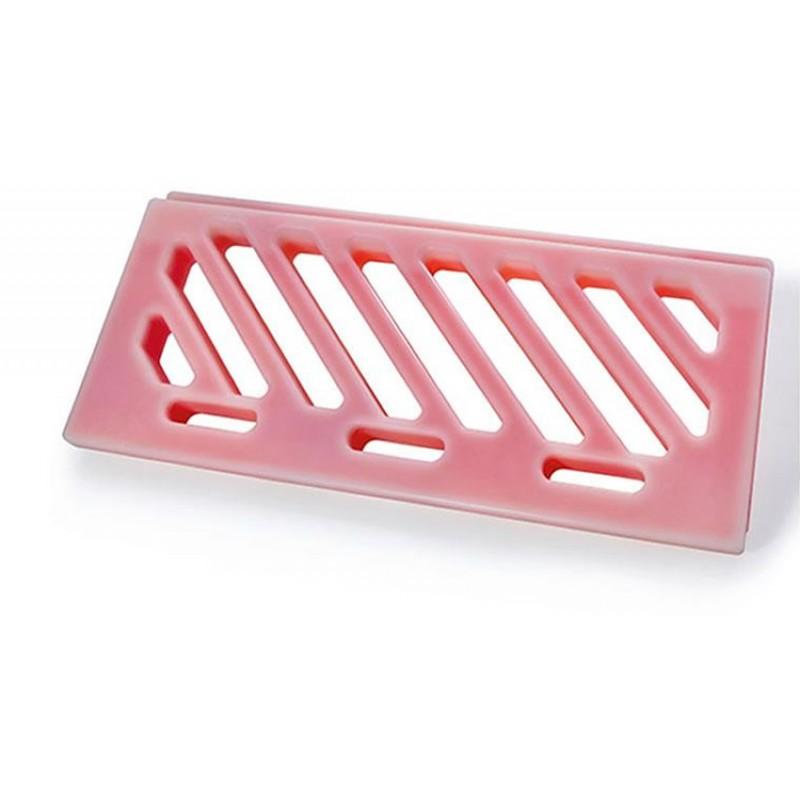 Plaque eutectique rouge 835 x 353 mm