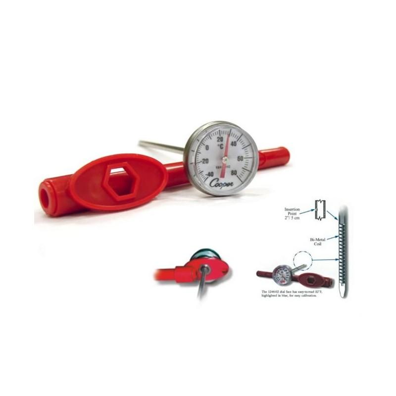 Thermomètre alimentaire à coeur -40 à + 80 degrés