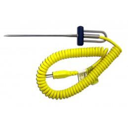 Sonde de température à coeur 114 mm pour thermocouple