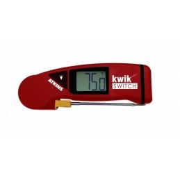 Thermomètre thermocouple pliable avec sonde remplaçable