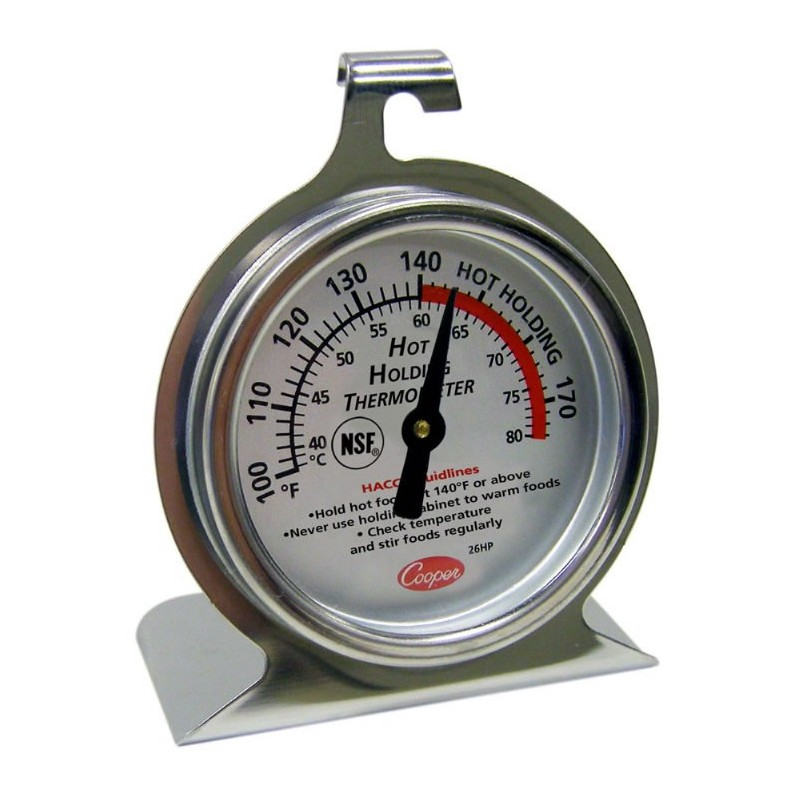 Thermomètre de maintien à chaud à cadran HACCP.