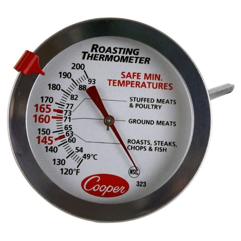 Thermomètre pour viandes grillées et poissons