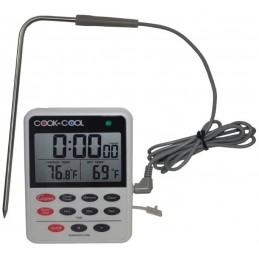 Thermomètre numérique pour four