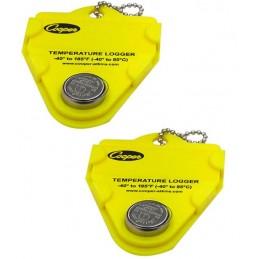Kit thermomètre avec enregistreur de données : les 2 pastilles